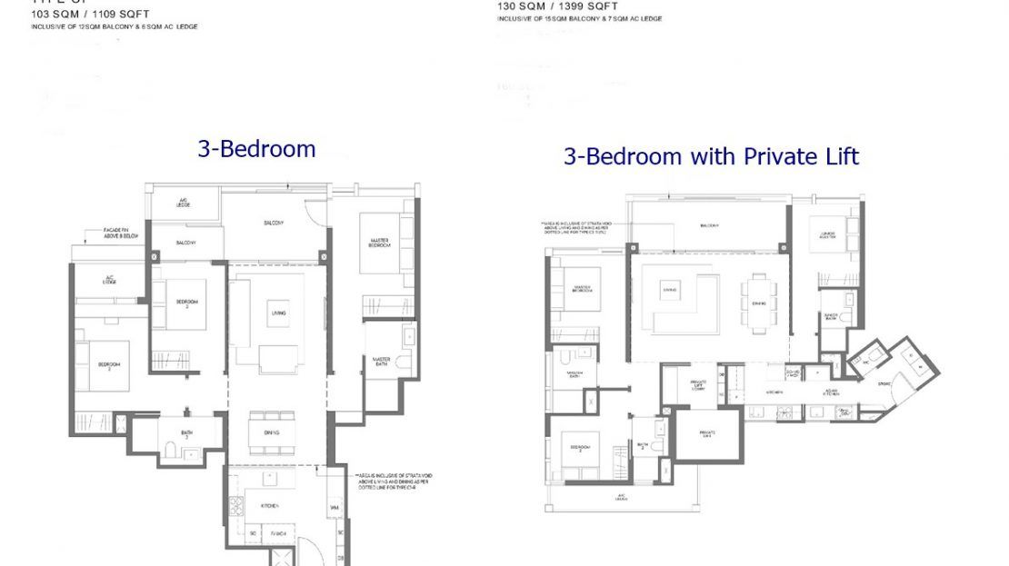 Meyer Mansion - 3 Bedroom Floor Plan