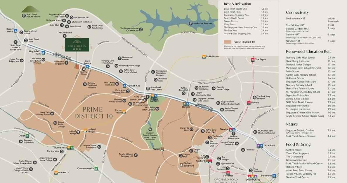 RoyalGreen- Location map 1