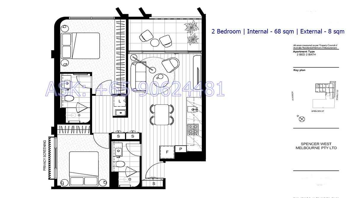 The Marker - 2 bedroom floorplan