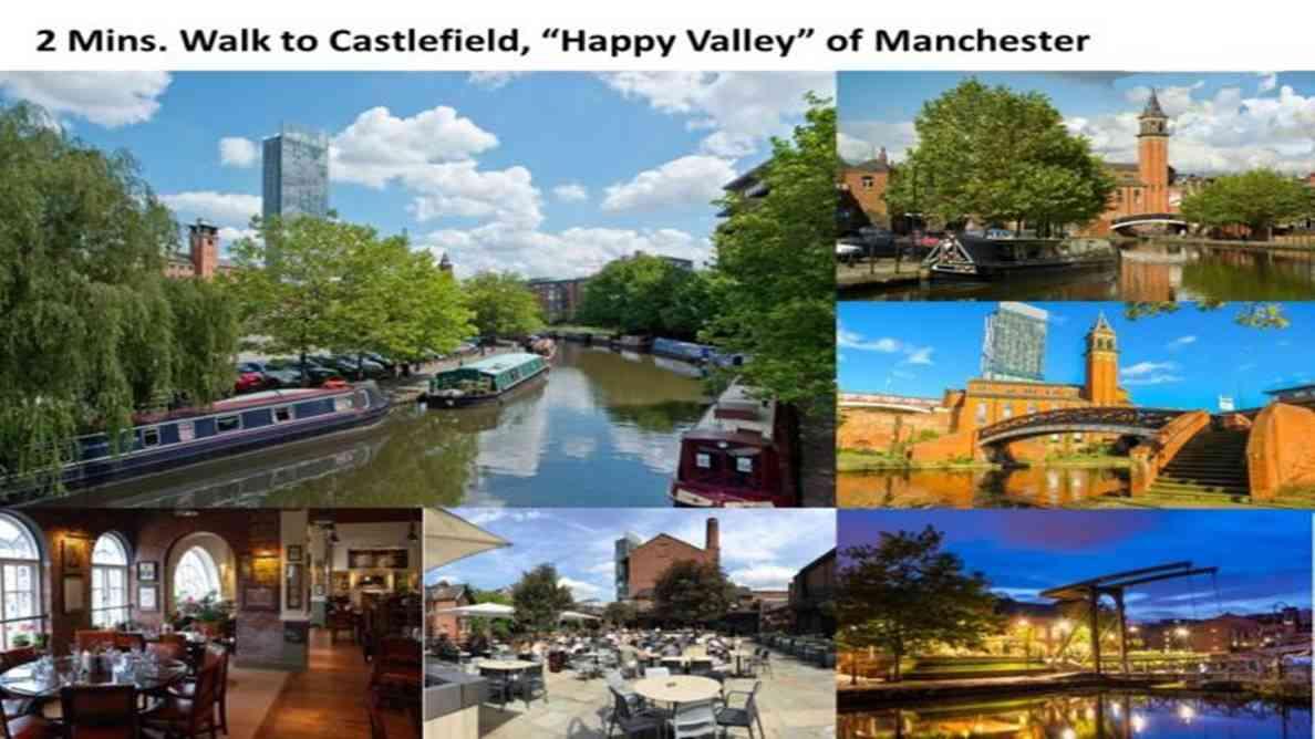 Elizabeth Tower Manchester -Castlefield