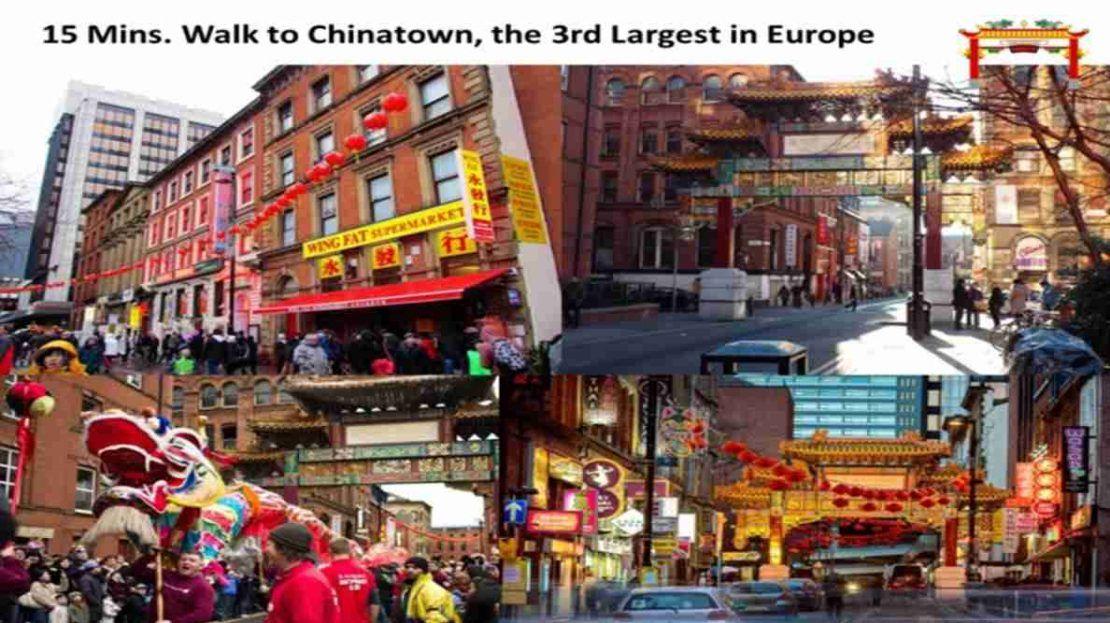 Elizabeth Tower Manchester -Chinatown