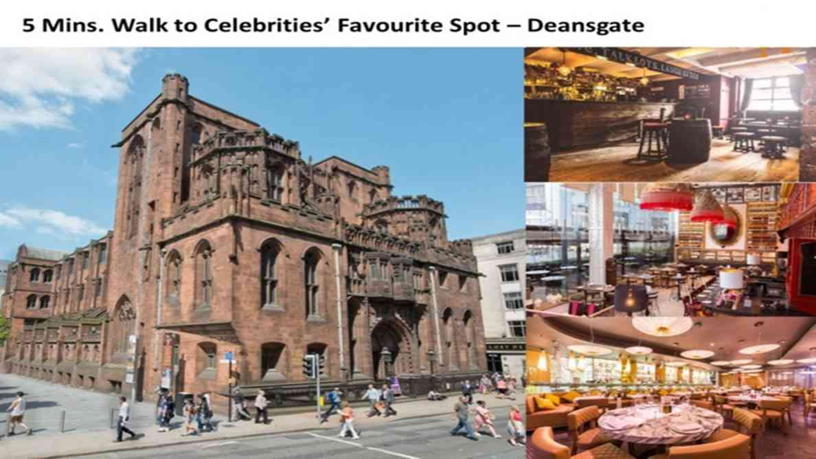 Elizabeth Tower Manchester - Deansgate