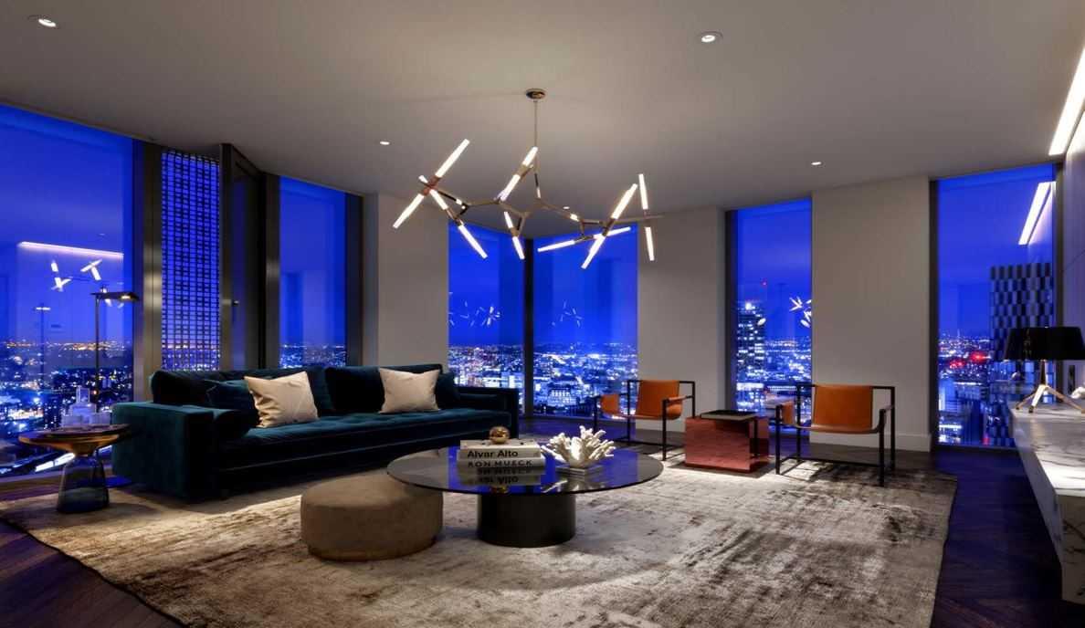 Elizabeth Tower Manchester - Living room