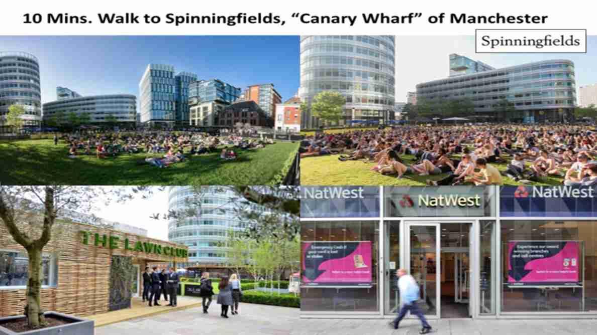 Elizabeth Tower Manchester - Spinningfields