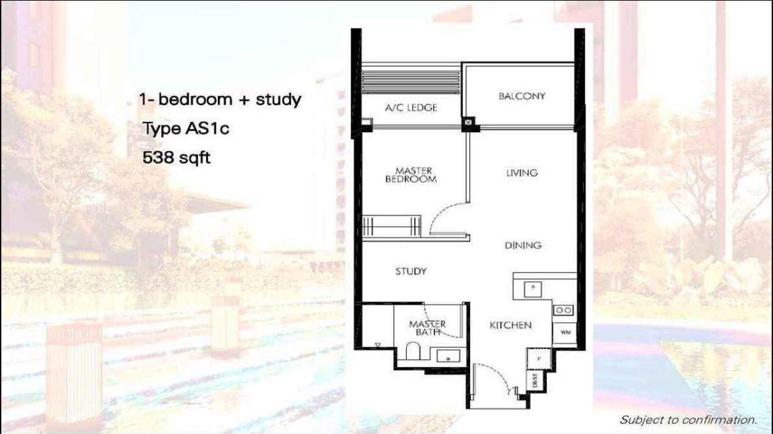 Leedon Green - 1 Bedroom