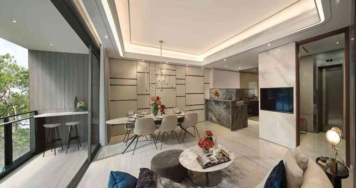 Leedon Green - 4 BR Living area
