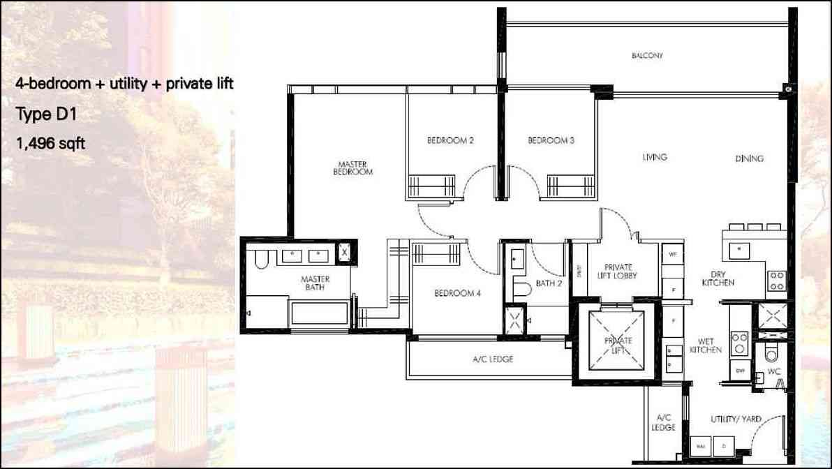 Leedon Green - 4 Bedroom