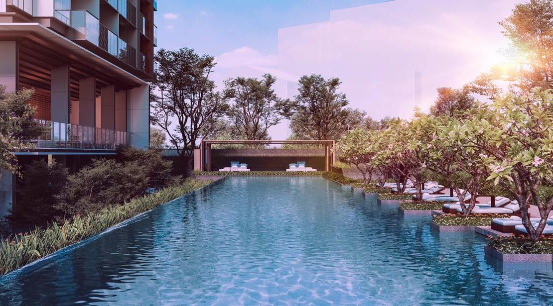 Leedon Green - Lap pool
