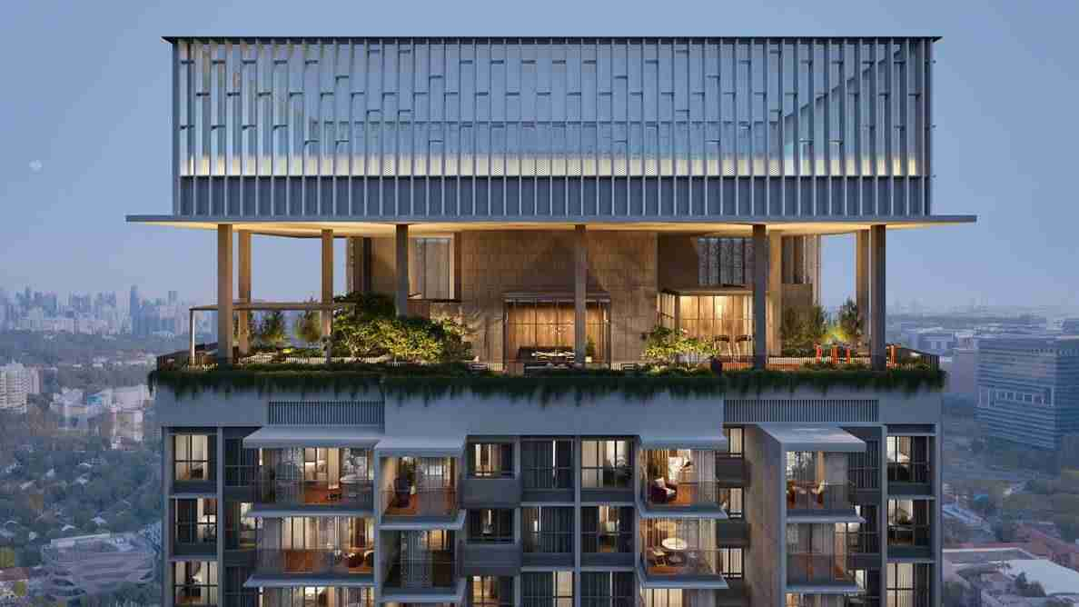 One Holland VIllage - Sereen Residences- Roof Facilities