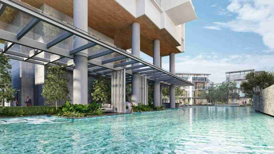 One Holland Village Residences - Deck pool