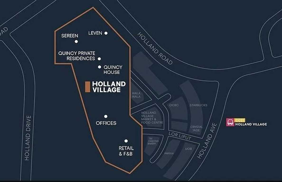 One Holland Village Residences Location