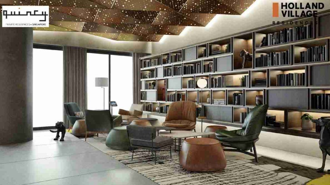 One Holland Village Residences - Quincy Lounge