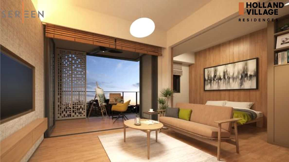 One Holland Village Residences - Sereen Living room