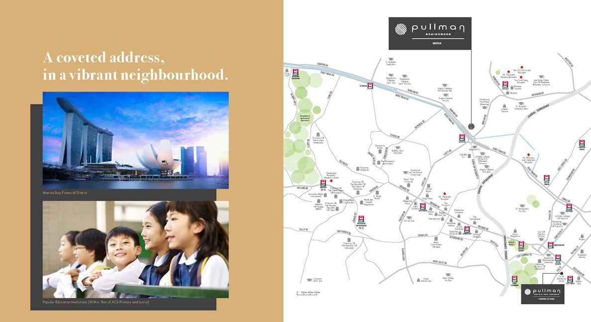 Pullman Residences - Location Map