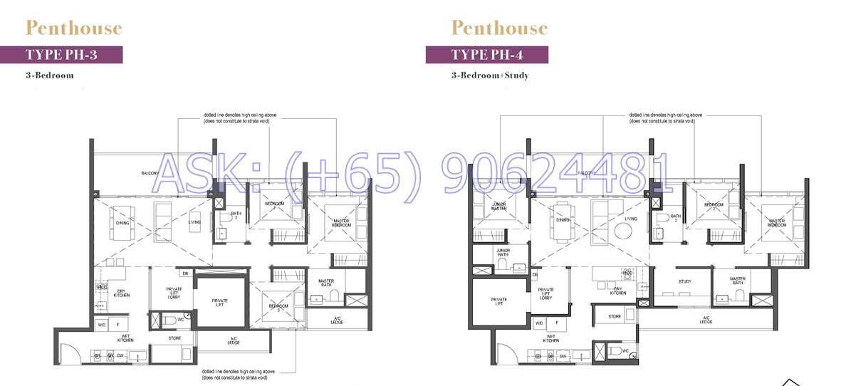 Pullman Residences - Penthouses Floor Plan