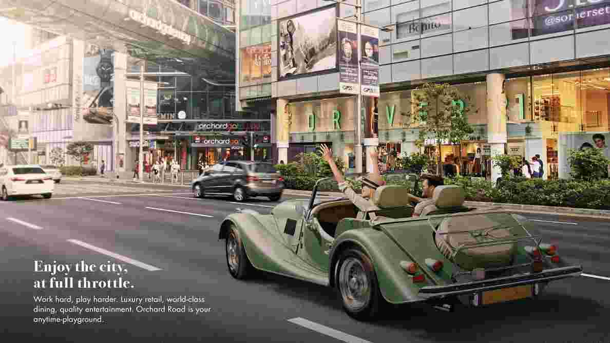 Pullman Residences - Shopping at Orchard Road