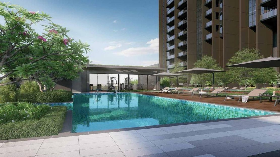 Pullman Residences - Wellness pool