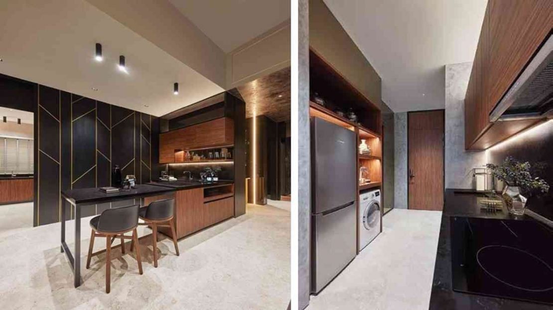 Pullman Residences - wet kitchen