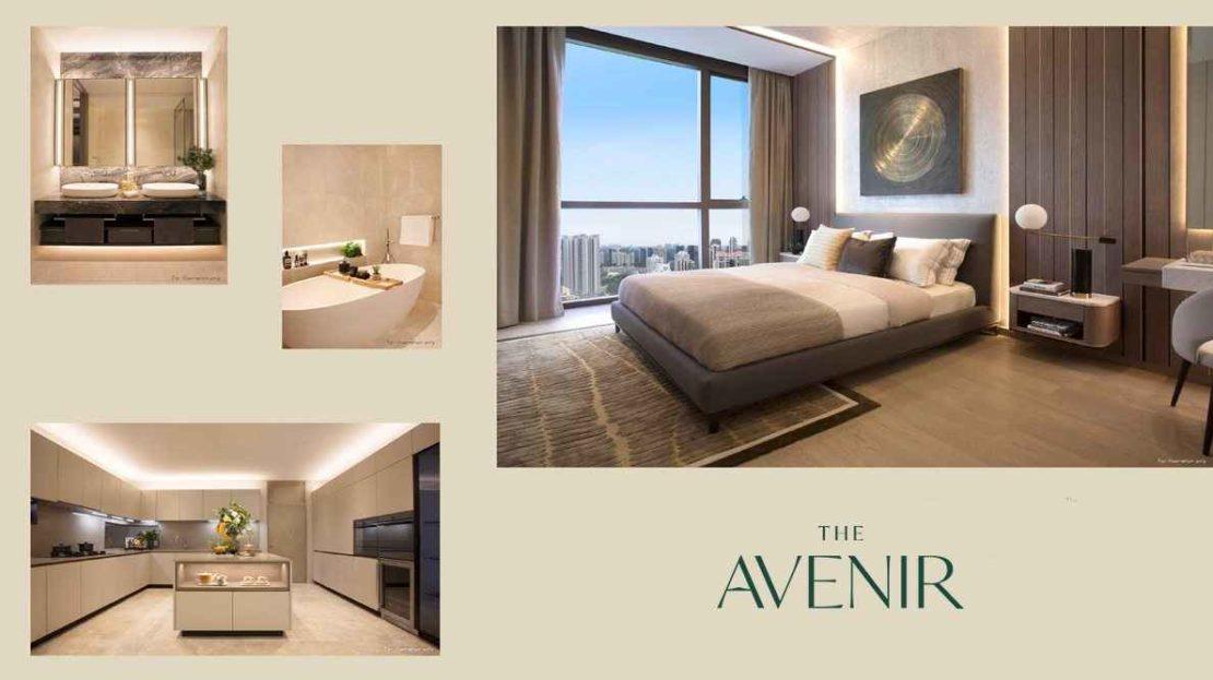 The Avenir - Bedroom