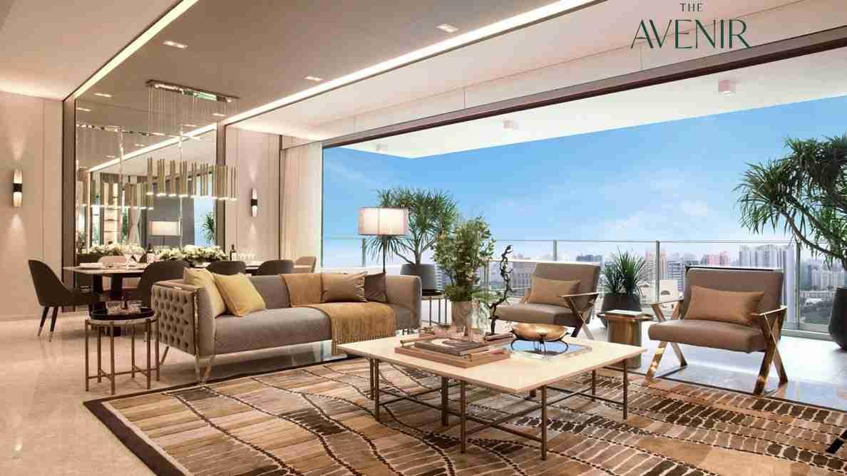 The Avenir - Living Room