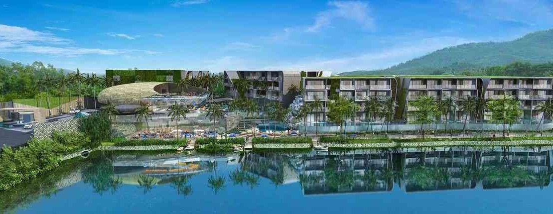 Wyndham Grand Naiharn Phuket Facade