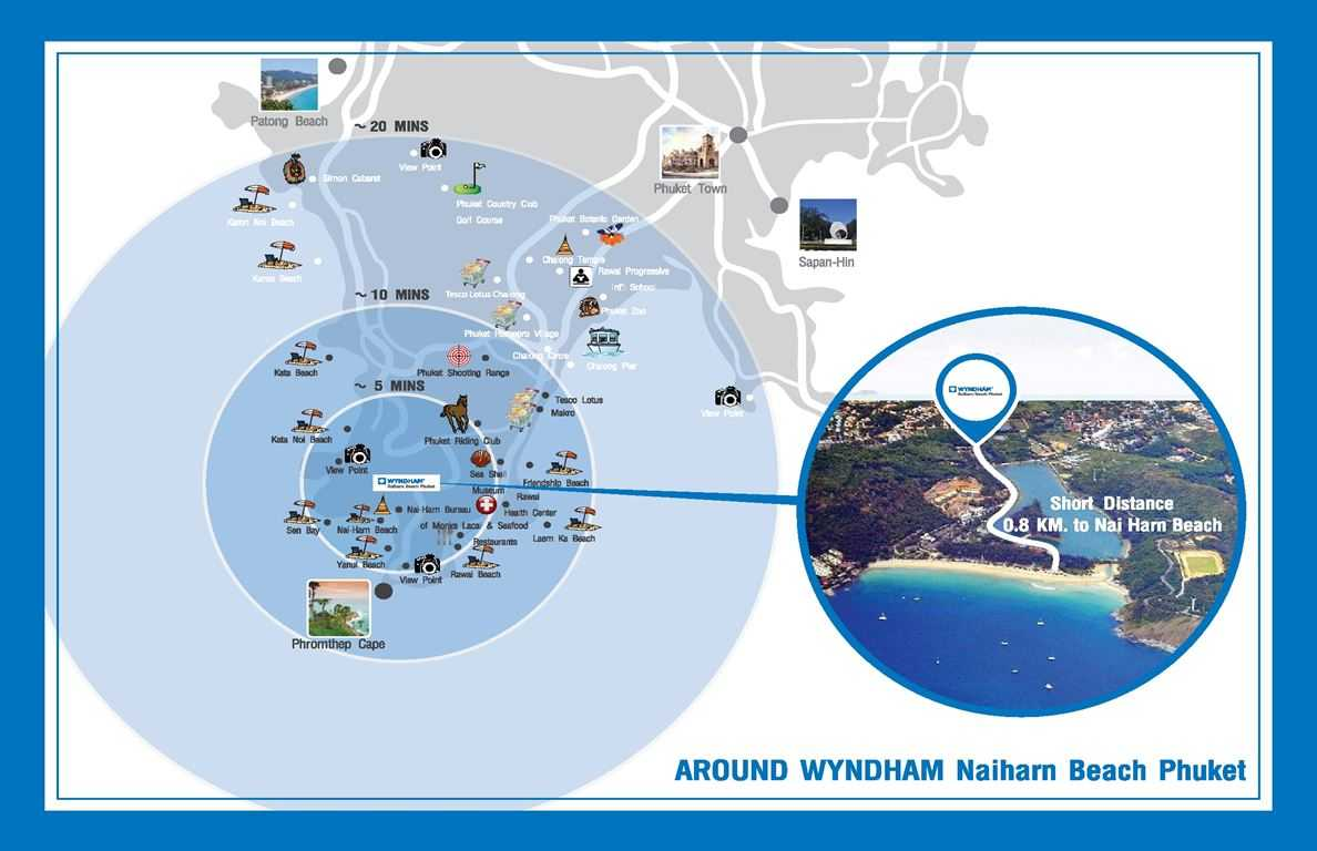 Wyndham Grand - Location Amenities