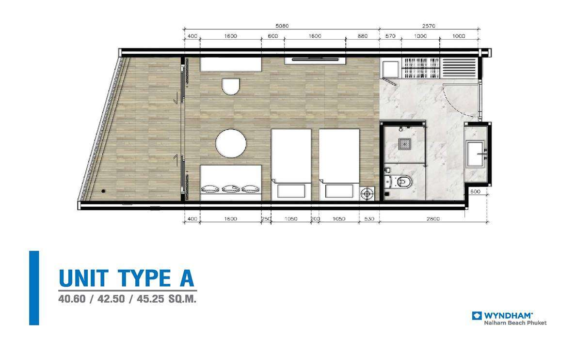 Wyndham Grand - Type A Floor Plan