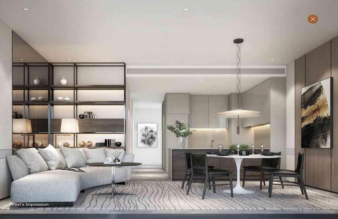 19 Nassim - 2BR Living room