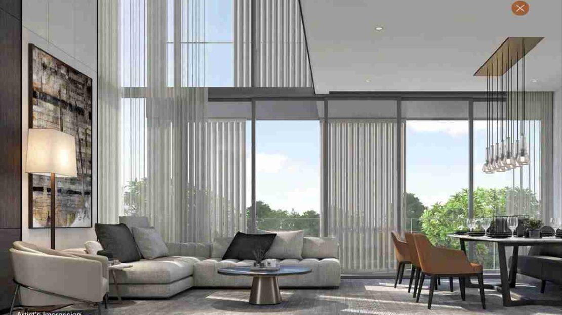 19 Nassim - 3BR Living room