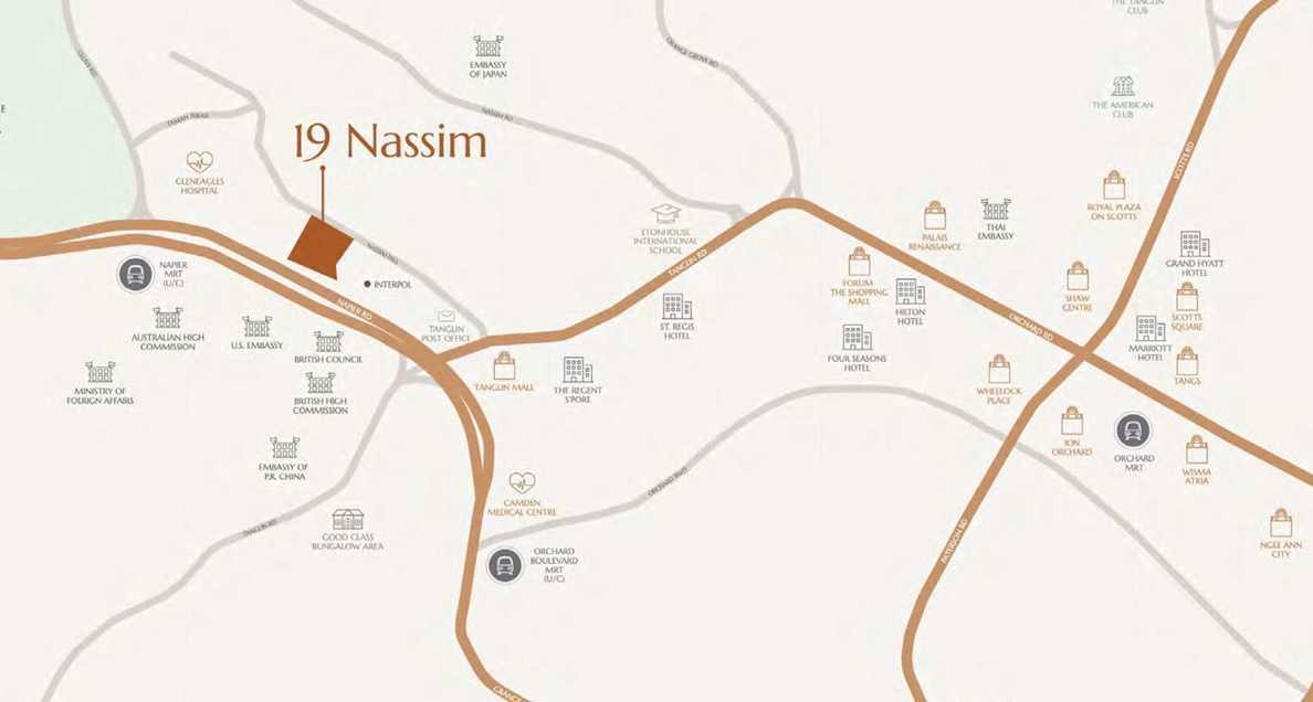 19 Nassim - Location Map