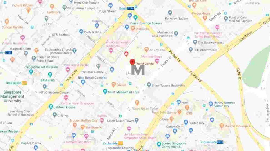 The M - Location