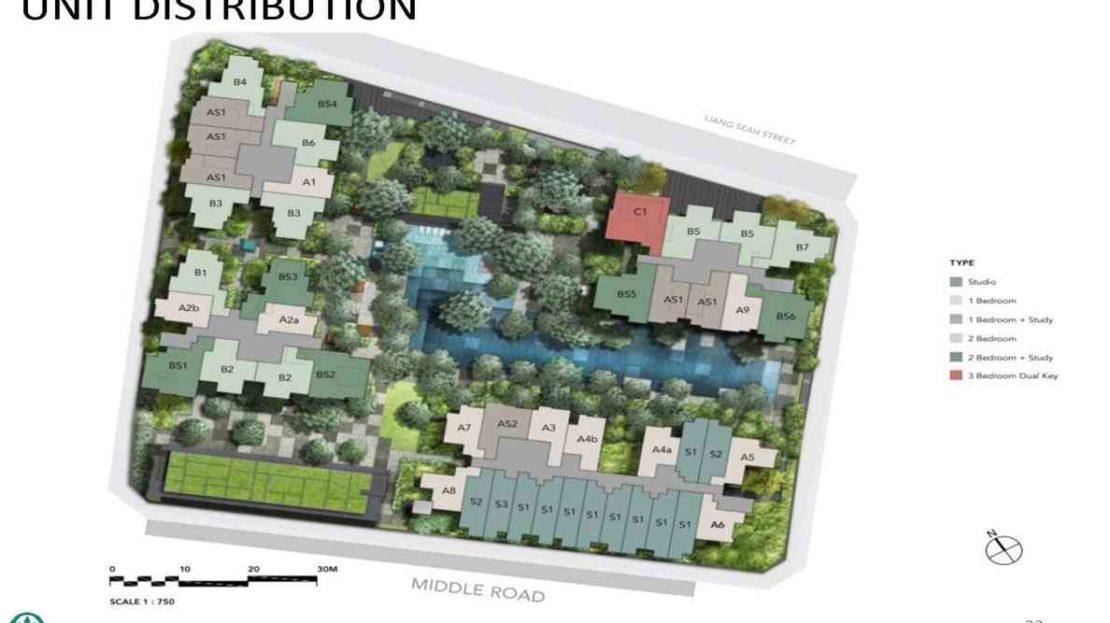 The M - Site Plan 2