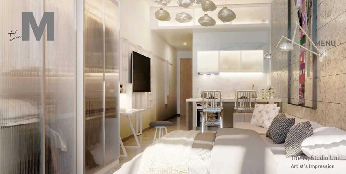 The M - Studio Bedroom 2