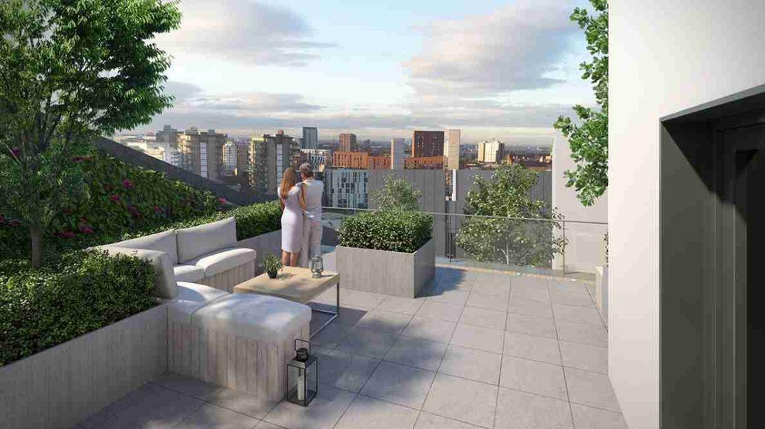 Uptown - Communal Terrace
