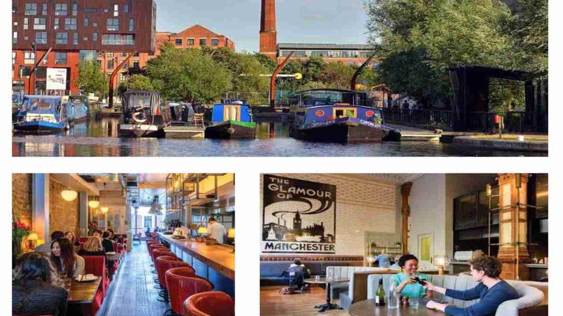 Uptown Riverside Manchester - waterway