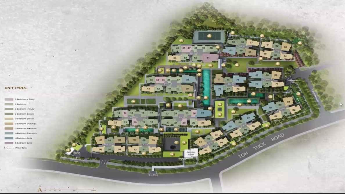 Forett at Bukit Timah Site Plan