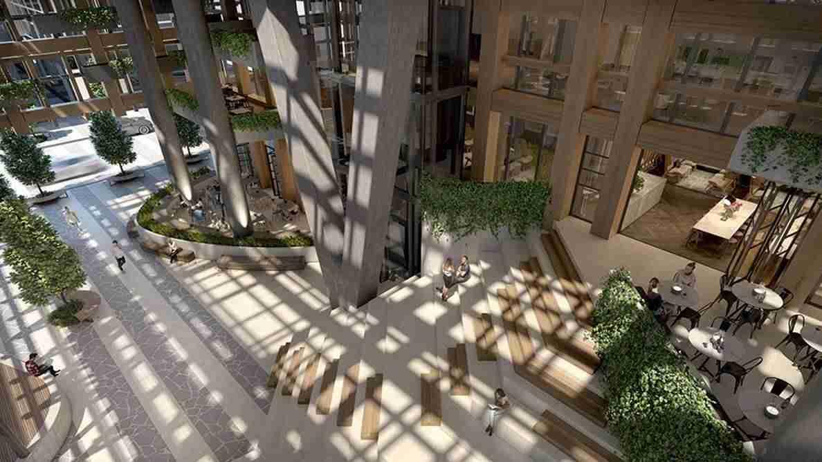 Yarra One - Atrium