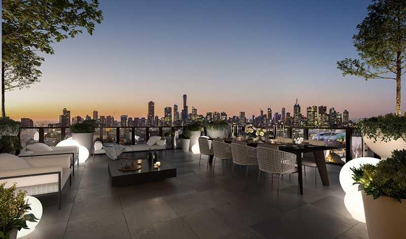Yarra One - Sky Terrace