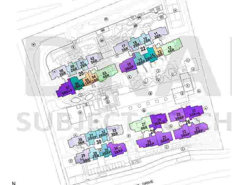 Penrose Draft Site Plan