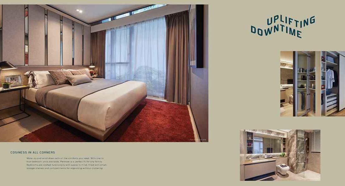 Penrose - Bedroom