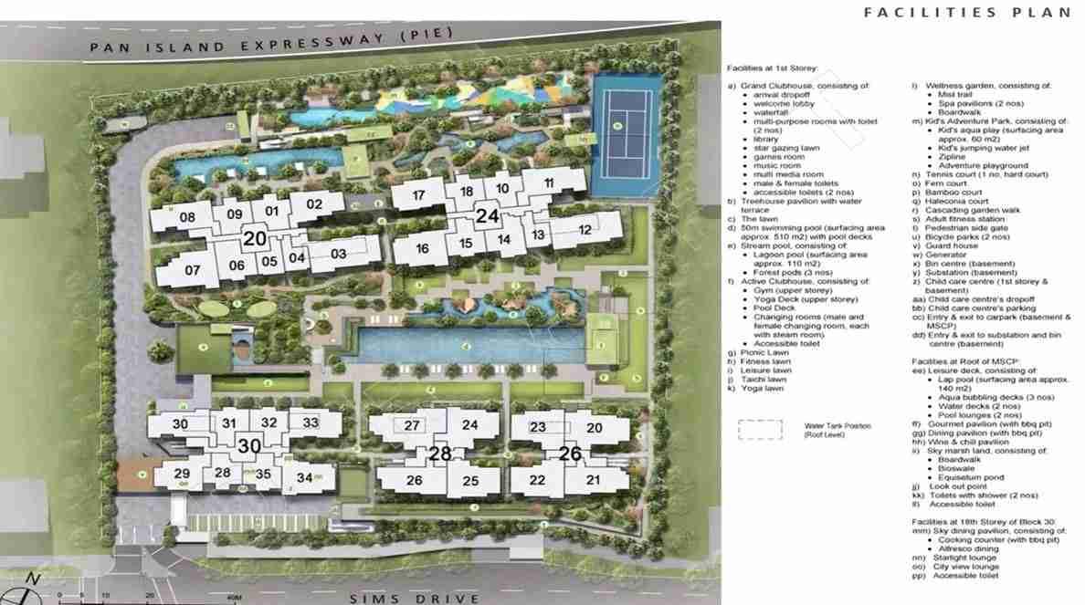 Penrose - Facilities Plan 1