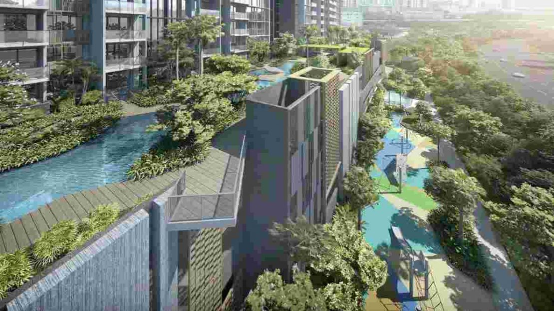 Penrose - Facilities above carpark level