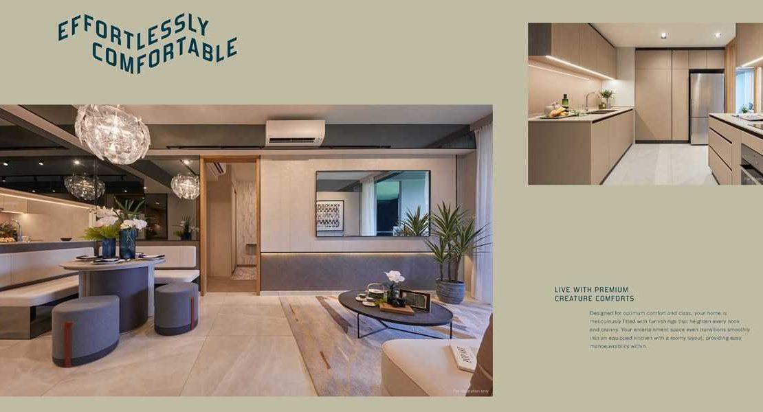 Penrose - Living room 1