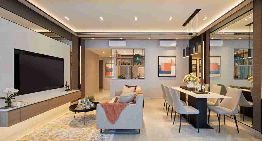 Penrose - Living room