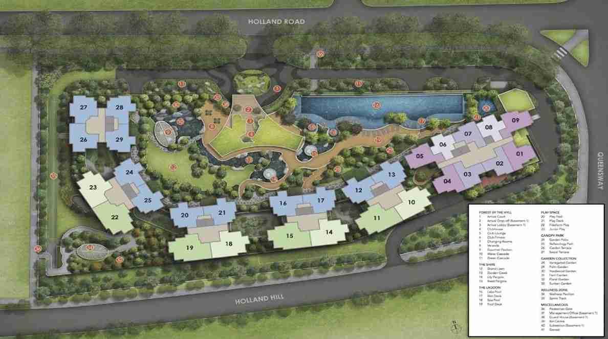 Hyll on Holland - Facilities plan 1