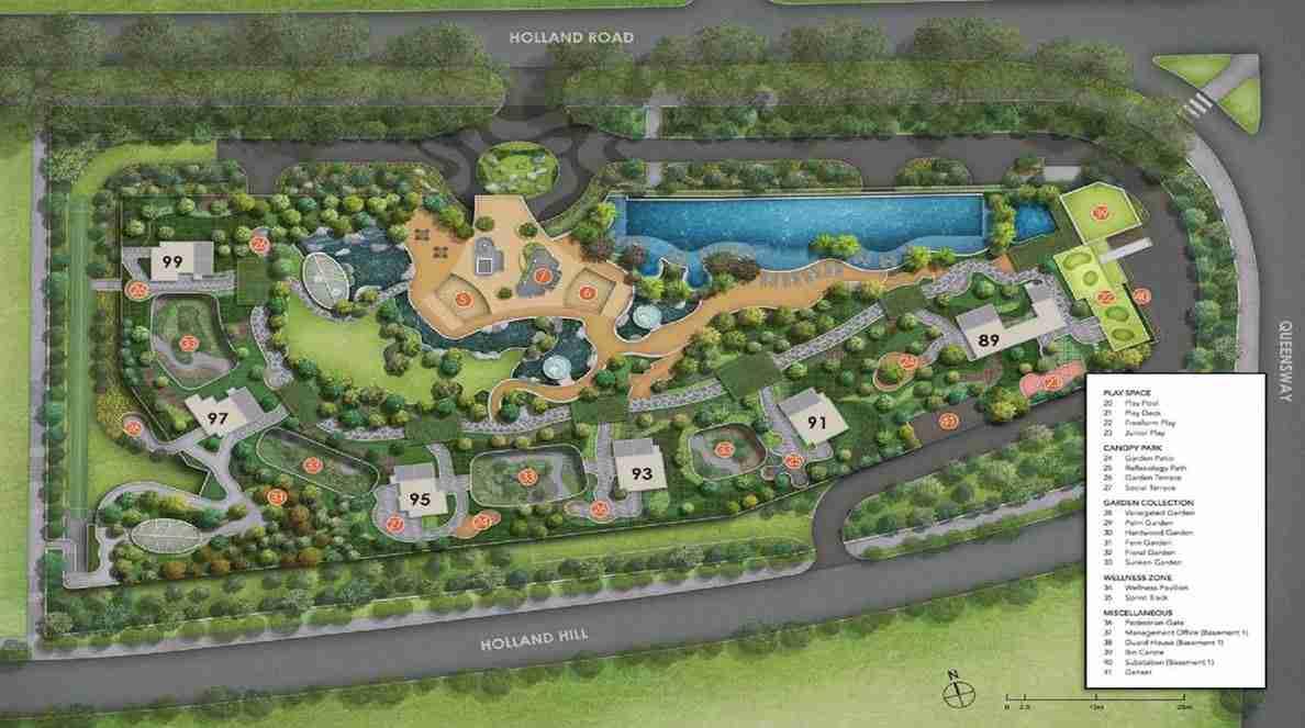 Hyll on Holland - Facilities plan 2
