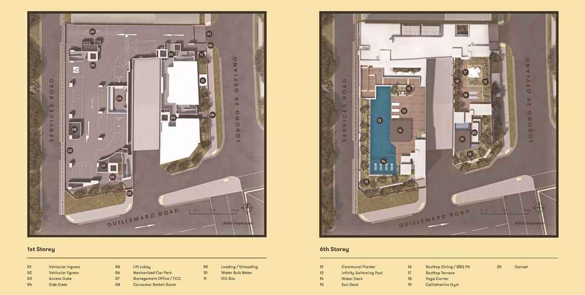 NoMa - Facilities plan