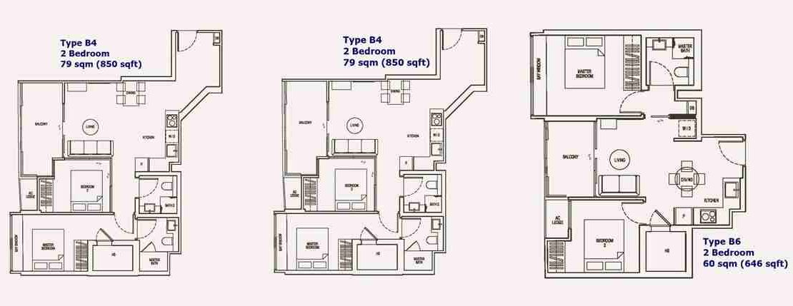 NoMa - Typical 2 BR