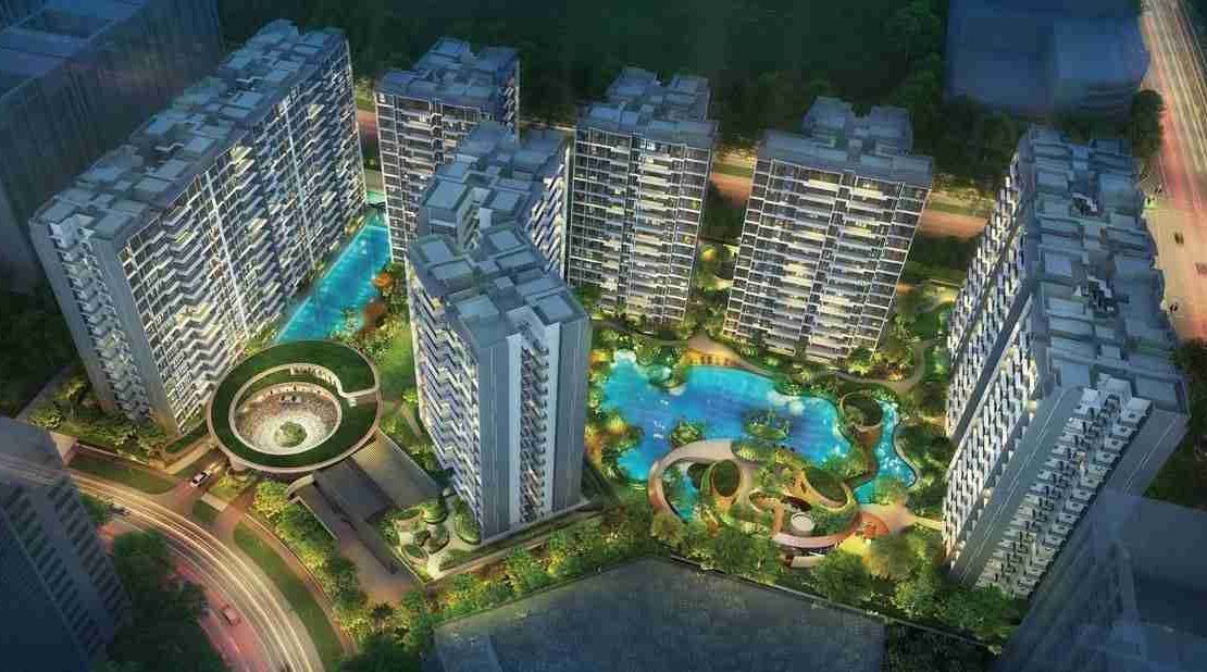 Parc Central Residences - Facilities Aerial View