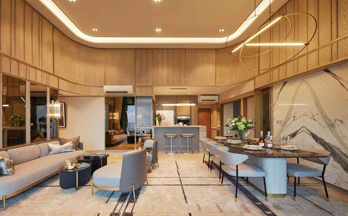 Parc Central Residences - Living Room